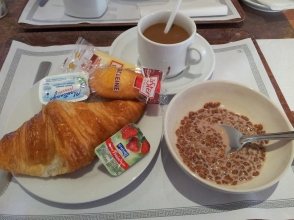 The best croissants in the world for breakfast!