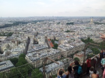 This aerial view of Paris from the Eiffel Tower captures what I'm trying to say.