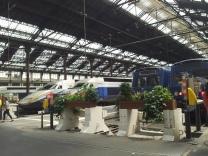 TGV trains.