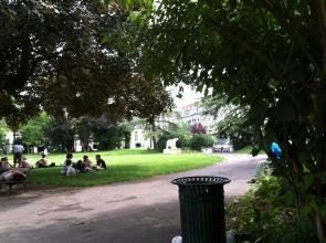 Random park chillaxing.